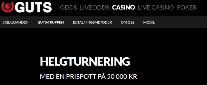Guts casino, som du får veta av vår recension