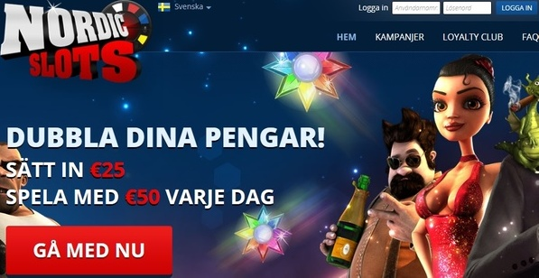 Vi recenserar NordicSlots casino