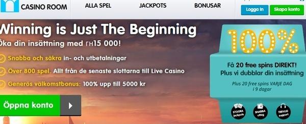 Casino Room freespins